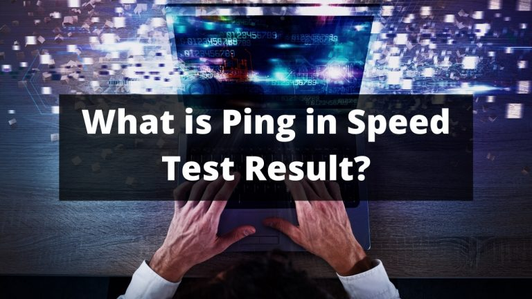 Ping Means in Speed Test